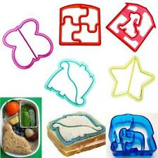 DIY Kids Sandwich Toast Cookies Mold Cake Lunch Bread Biscuit Food Cutter Mould