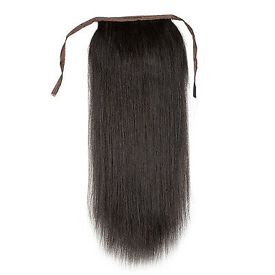 """20"""" 24"""" 28"""" clip-in 100% remy human hair ponytail extensions 120g any colors"""