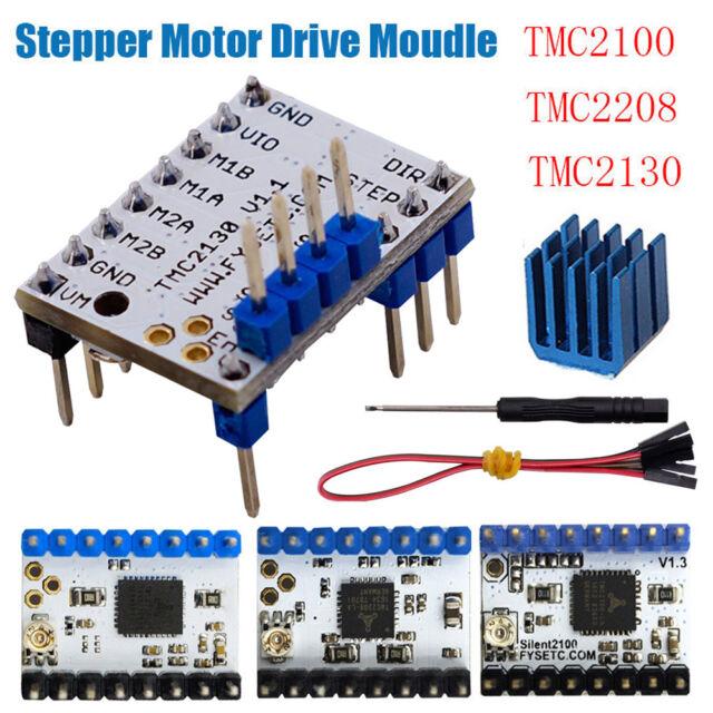 Heat Sink For 3D Printer TMC2130 TMC2100 Stepstick Stepper Motor Driver Module