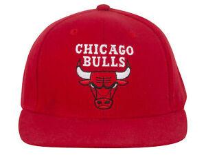 Chicago-Bulls-Red-Adjustable-Snapback-Hat