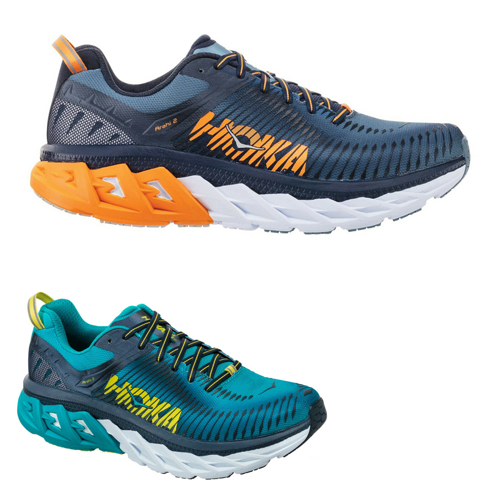 Hoka One Arahi 2 Mesh Low -Top Running Mens Trainers   a prezzi accessibili