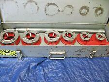 Ridgid 12 2 12r Pipe Threading Die Set In Metal Case 300 700