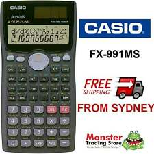 AUSSIE SELLER  CASIO SCIENTIFIC CALCULATOR FX-991 FX991 FX991MS WARRANTY