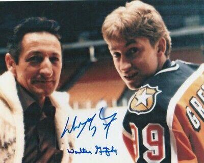 Wayne Walter Gretzky Signed 1984 Nhl All Star Game 8x10 Photo Edmonton Oilers Ebay