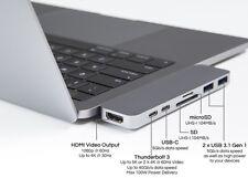 HyperDrive Thunderbolt 3 USB-C Hub for MacBook Pro HDMI, USB-C, SD, 2 x USB 3.1