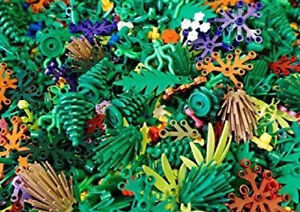 NEW-X25-Lego-Greenery-Plant-Parts-Pieces-trees-shurbs-bushes-leaves-random