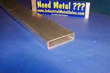 6063 Aluminum Rectangle Tube 1 X 4 X 24 X 18 Wall 1 X 4 X 125 Wall