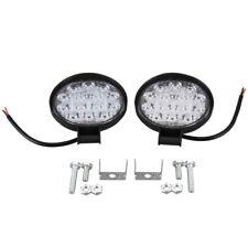 Led Light Bar 2pcs 4 Inch 140w 14000lm Round Spotlight Pod Off Road Fog Driving