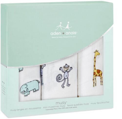 Anais CLASSIC MUSY JUNGLE JAM Baby BN Aden 3 PACK