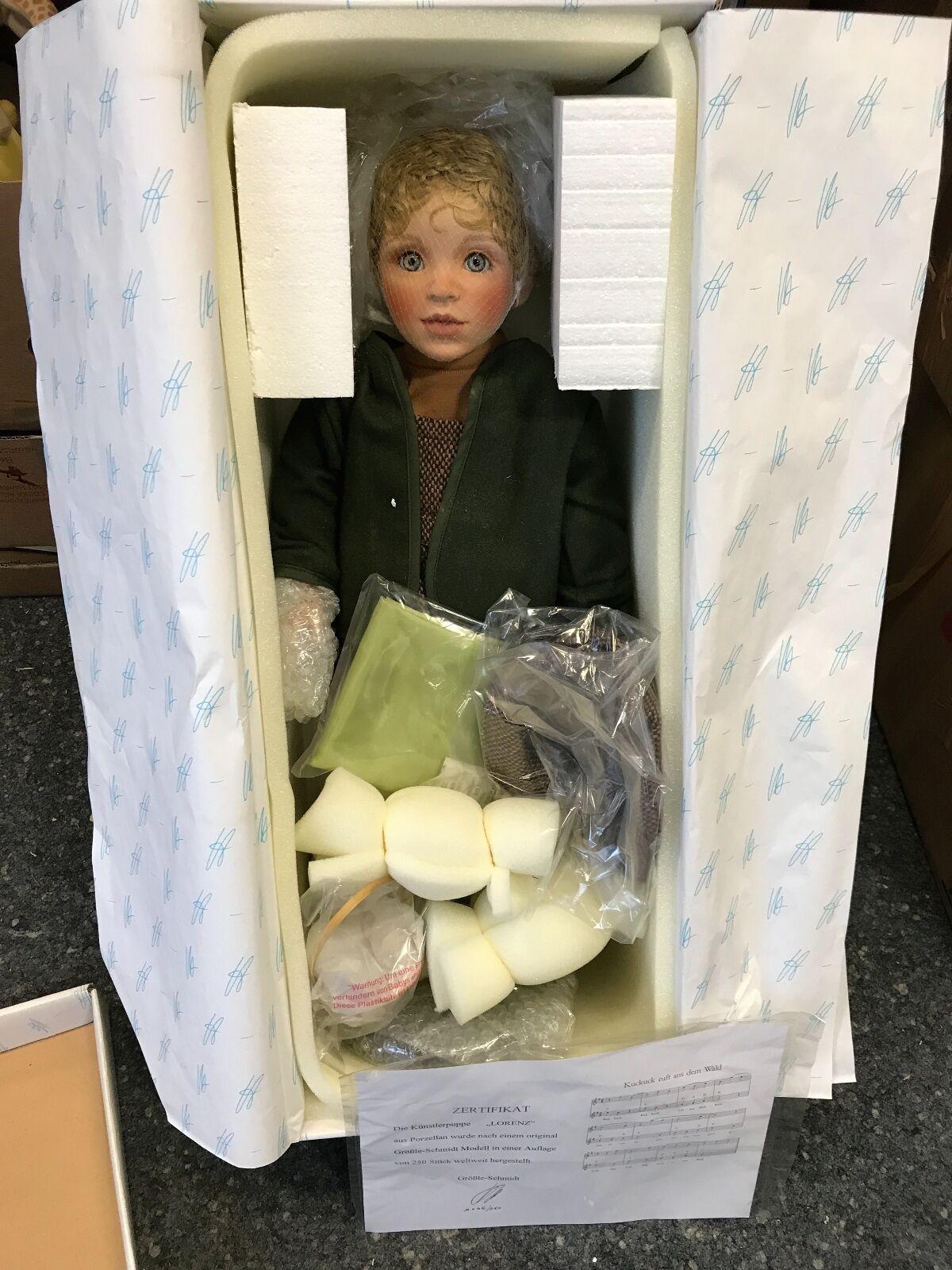 Größle Schmidt muñeca de porcelana 59 cm. top estado