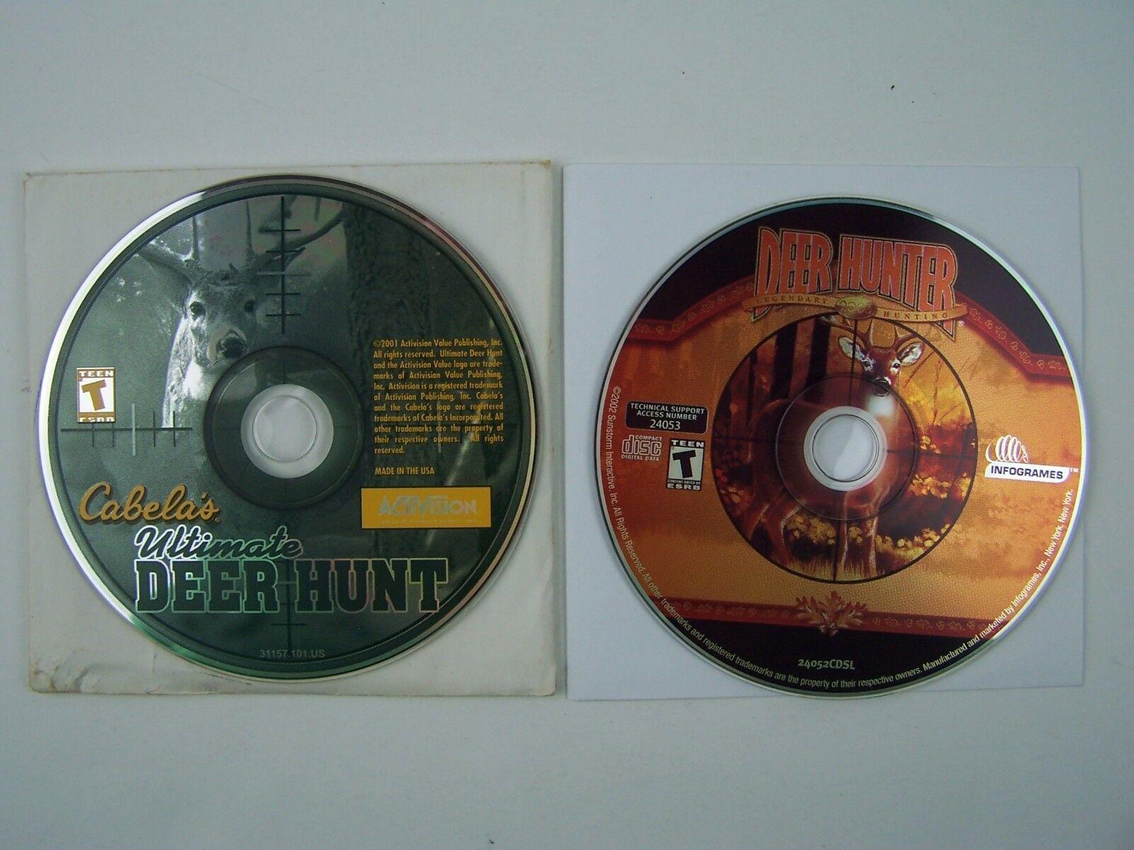 PC CD Deer Hunting Game Lot