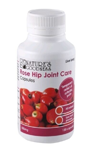 Nature's Goodness Rose Hip Joint Care 500mg 150 Capsules