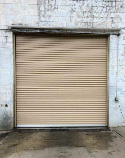 Durosteel Janus 12 X14 Commercial 1000i Series Insulated Roll Up Door Direct For Sale Online Ebay