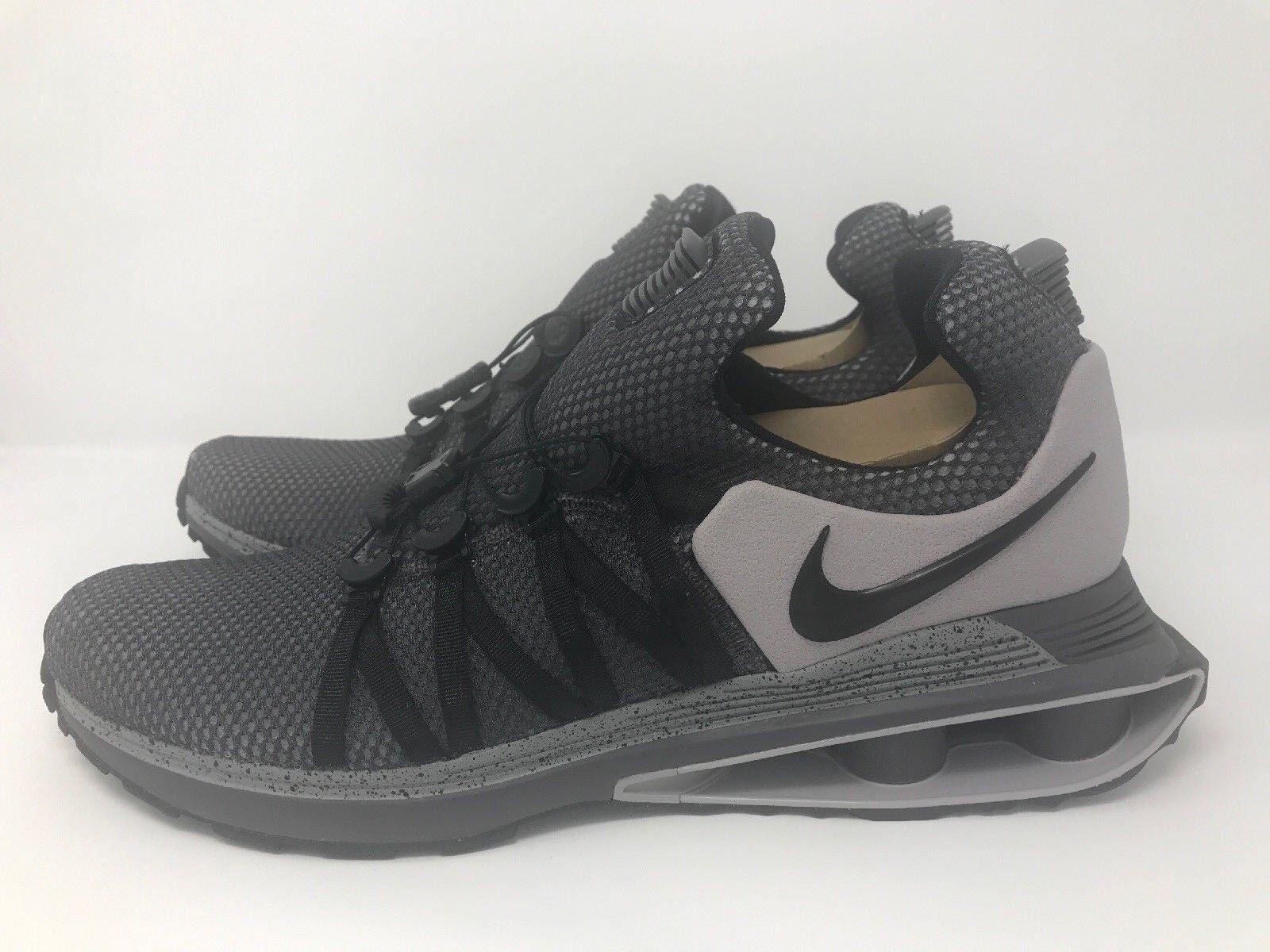 1e79761e48bd ... low price 150 nike shoes shox gravity mens shoes nike size 12  atmosphere grey black ar1999