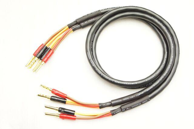 Mogami 2972 Pair Banana Plug Speaker Cable (5m) | eBay
