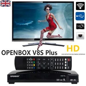 Details about GENUINE OPENBOX V8S PLUS FULL HD Freesat Smart TV Satellite  Receiver Channel Box