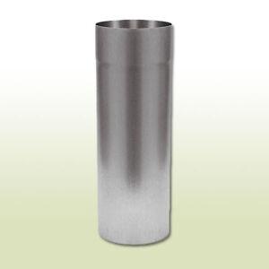 Zink Dachrinne halbrund RG 280 mm Länge 1 Meter