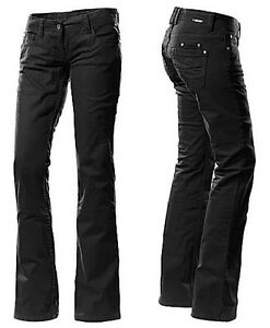 timezone damen jeans hose lisa 999 bootcut schwarz gr e w hlbar nagelneu ebay. Black Bedroom Furniture Sets. Home Design Ideas