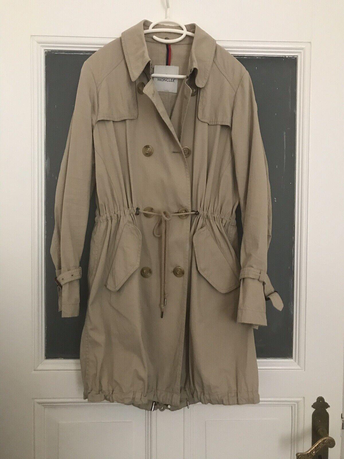 Muy  bonita gabardina de moncler talla 4 42 abrigo  bienvenido a orden