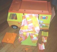 VINTAGE TOY 1970 MATTEL BARBIE POP OUT COUNTRY CAMPER