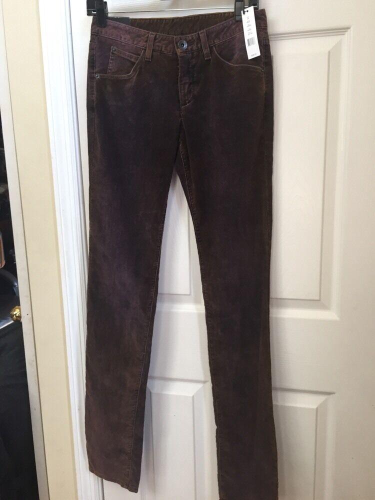Theyskens' Theory Palak Werner Sunset samt Hose Jeans Hergestellt in USA Sz 26