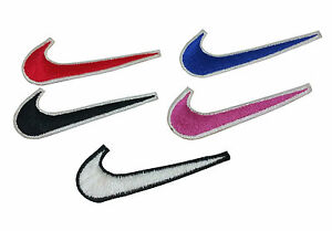 Nike embroidered iron on sew on patch badge logo sports applique