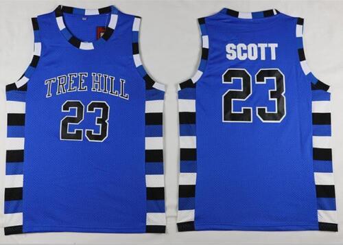 Mens #23 Lucas Scott #3 Nathan Scott One Tree Hill Basketball Jersey Stitched