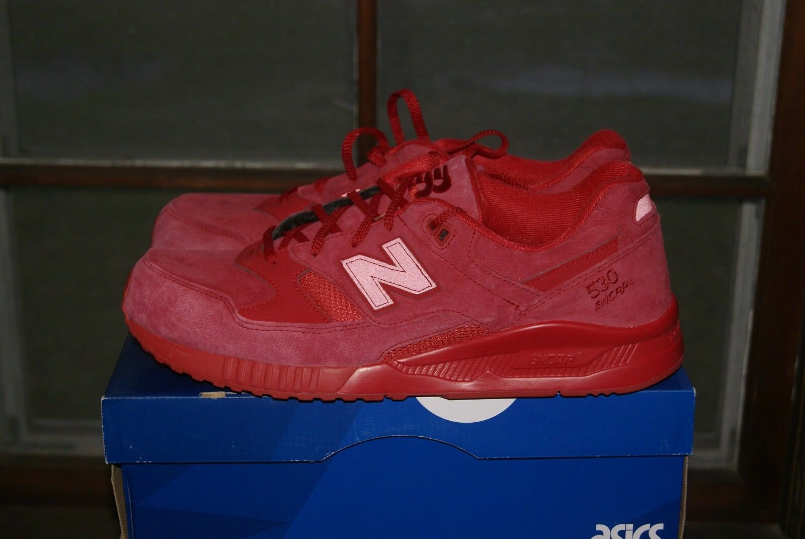 Mens New Balance M530AR Classics Traditionnels Triple Red13 Run Walk Shoes