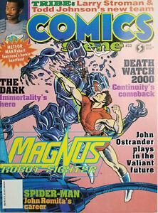 Comics-Scene-Magazine-33-May-1993-Magnus-Robot-Fighter-Meteor-Man-No-Label-NM