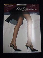 f39d7de07e7 2 Hanes Silk Reflections Control Top Reinforced Toe Pantyhose 718 AB ...