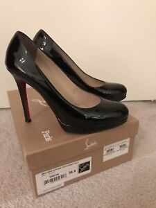26c37b831ac2 Image is loading Authentic-Christian-Louboutin-New-Simple-Pump-120-Patent-