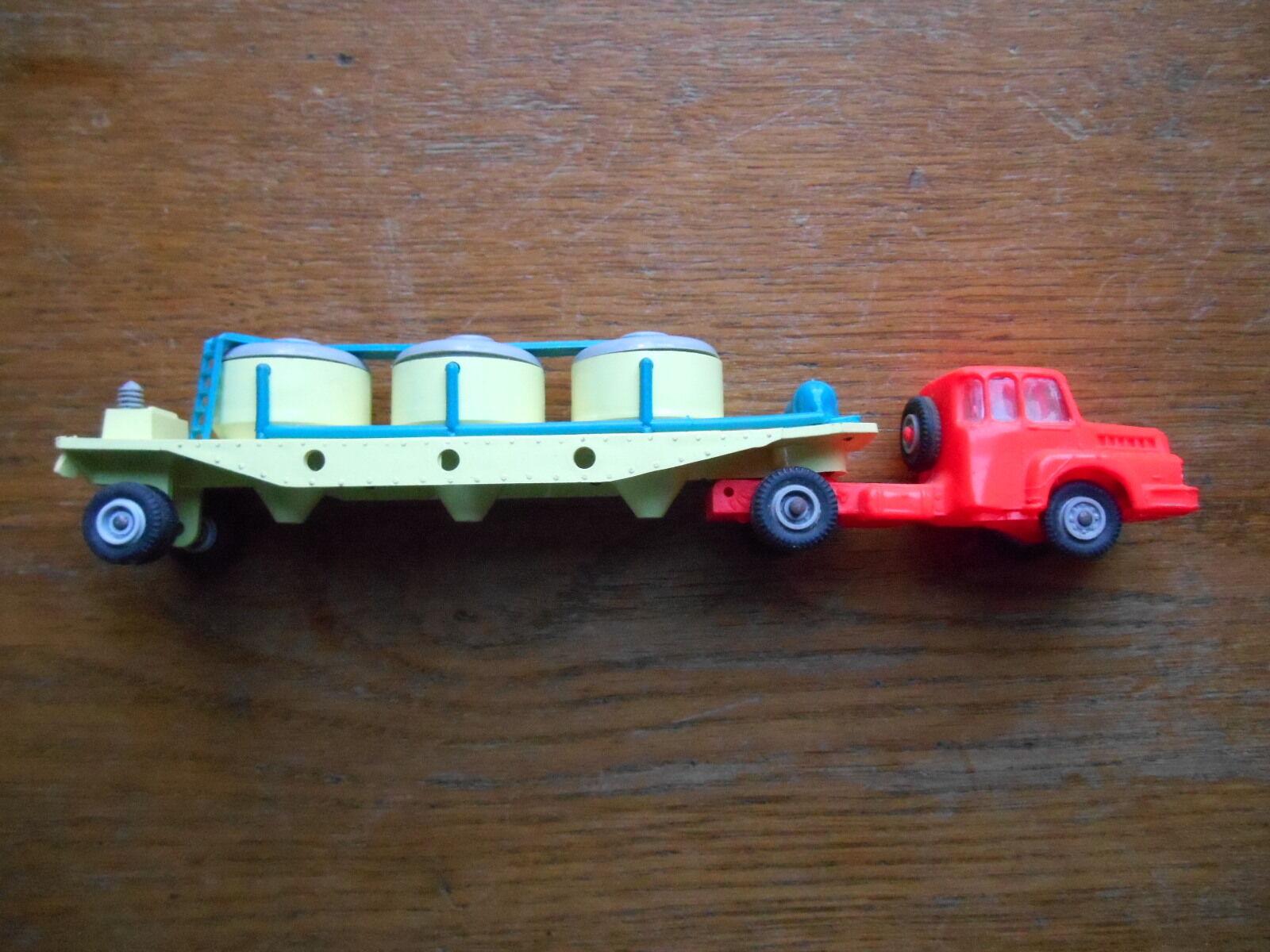 Jouet ancien  Tracteur Unic+containers à ciment micro micro micro Norev  original dcdb76