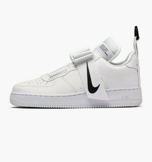 Size 6 - Nike Air Force 1 Utility White Black for sale online | eBay