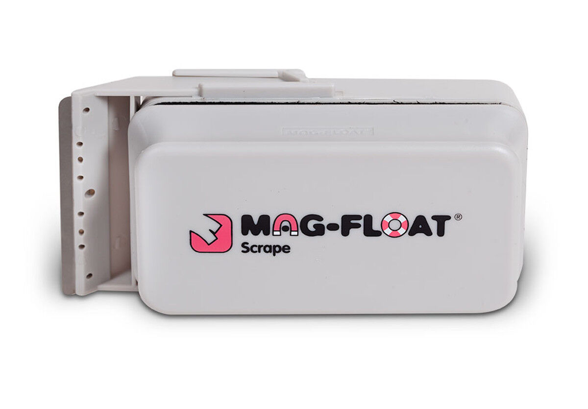Iman Mag float SCRAPE LARGE XL con cu lla.Limpieza de cristales  cristal 20mm