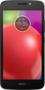 Motorola 01187NACRTL E4 4th Generation 16GB 4G LTE Black Unlocked Smartphone