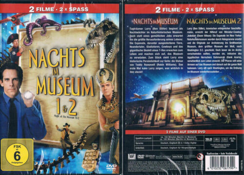 1 von 1 - NACHTS IM MUSEUM 1 + 2 --- Doppelpack --- Kinohits --- Neu & OVP ---