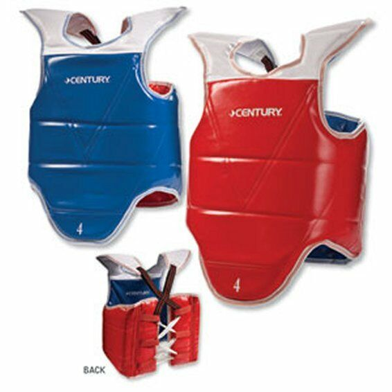 Century Solid Reversible Taekwondo Vest  Sparring  Chest Guard all sizes c11813  welcome to choose