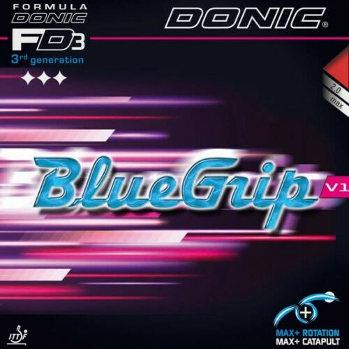 Donic Bluegrip V1 Table Tennis Rubber New!!