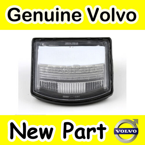 Genuine Volvo S40 Licence & Number Plate Lamp / Light (Incluing Bulb Holder)