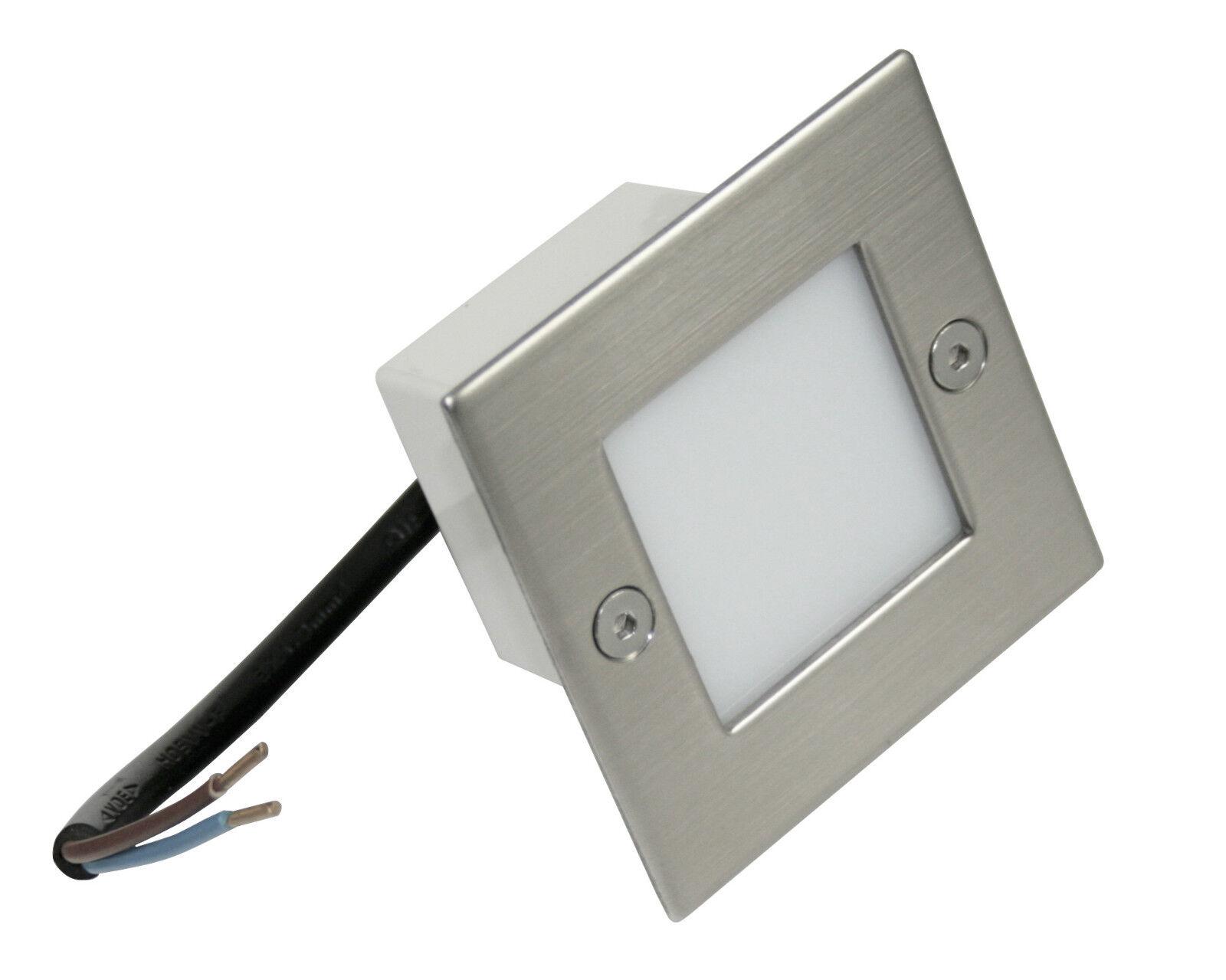 230V LED Einbaustrahler Royal 1,5 W Innen & Aussen IP54 Nass.- Feuchtraum HV