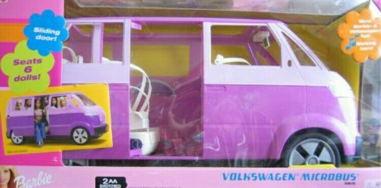 Mattel Barbie VW Bulli   ,sehr selten.