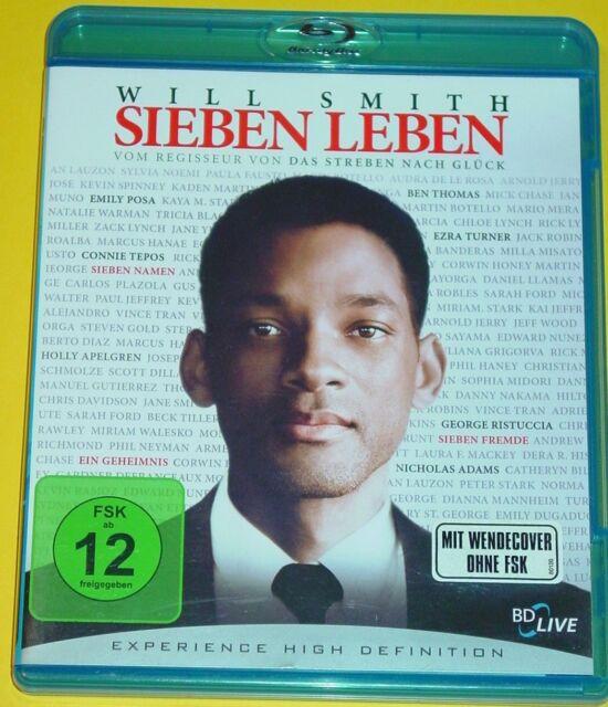 Blu-ray DVD - SIEBEN LEBEN ( SEVEN POUNDS ) WILL SMITH / FSK 12
