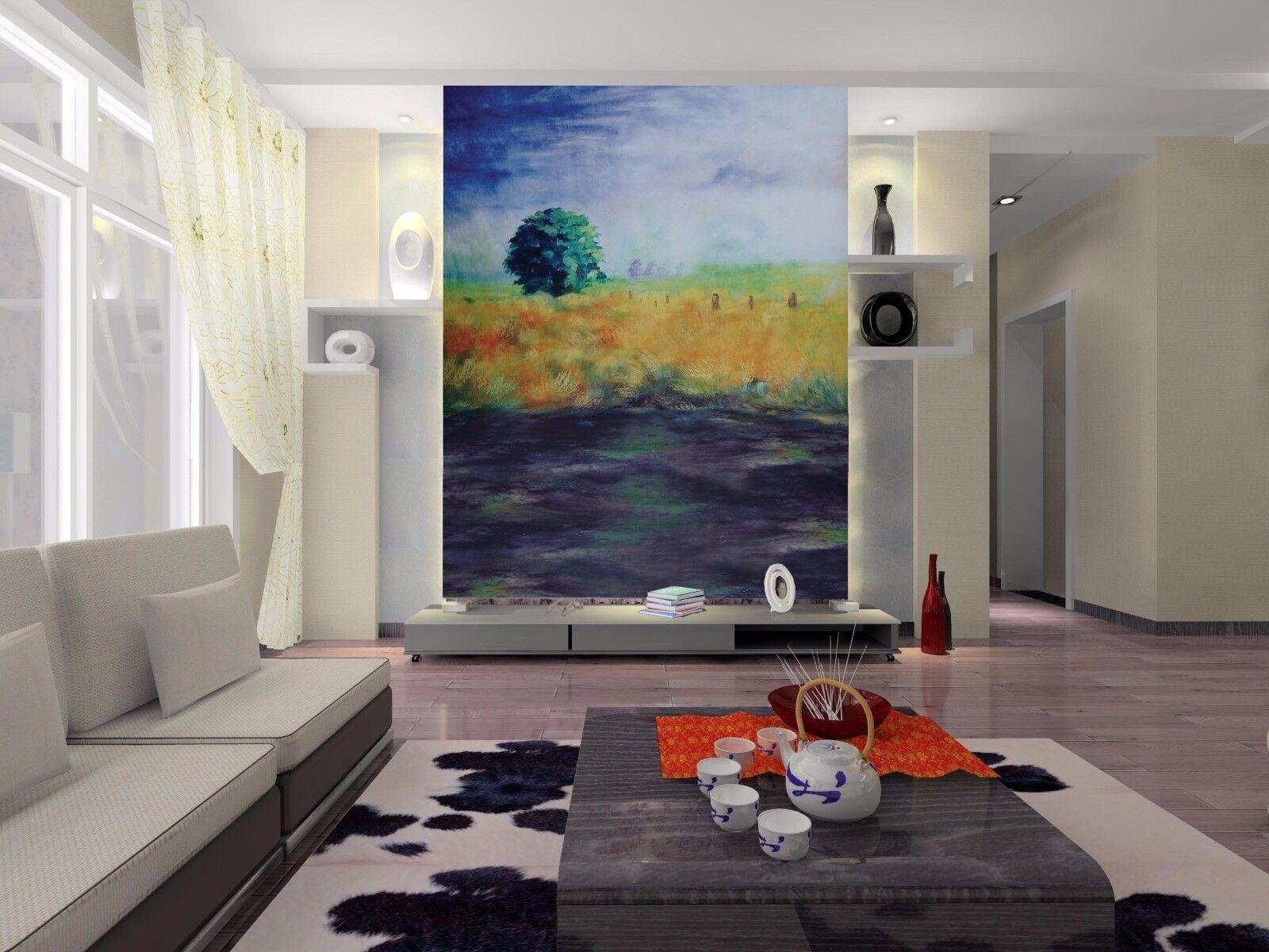 3D Wild Pastoral 89 Tapete Wandgemälde Tapete Tapeten Bild Familie DE Summer | Verrückter Preis, Birmingham  | Neueste Technologie  | Schönes Aussehen
