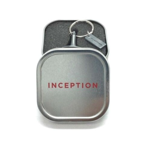 Inception Spinner Top Gyro Key Fob Ring Keychain Official Movie Promo Case Totem
