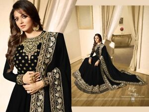 Indian Kameez Pakistani Dress Party Suit Wear Wedding Long Style Ethnic New Gown Ebay