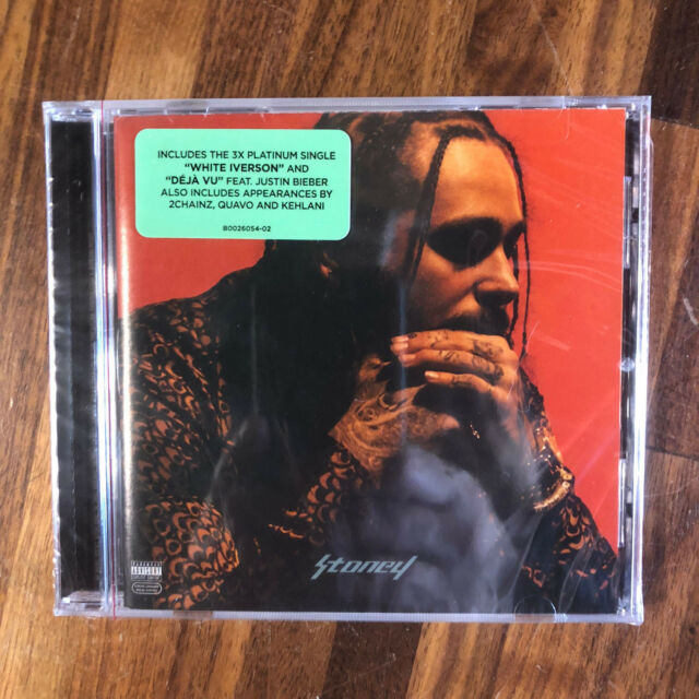 Post Malone Stoney: Stoney Explicit CD With Shrink Wrap Fast For