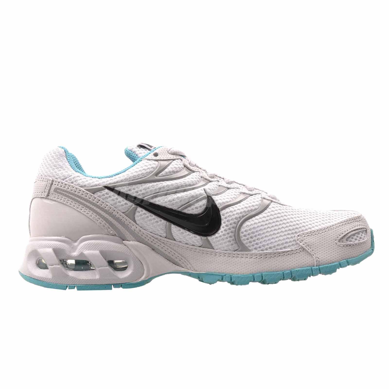 NWT NWT NWT Women's Nike Air Max Torch 4 Running shoes White Turq 343851 009 Wh Black 2bb1c7