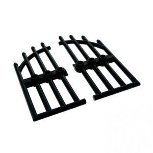LEGO 2 NEW Black Gates Doors 42448 6008363