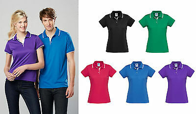 Miami Polo Shirt Top Ladies P402LS Sport Office Womens Casual Business Corporate