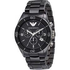 82c38a8051 Reloj hombre emporio Armani Ar1421 Cronografo Ceramica negro caballero  elegante